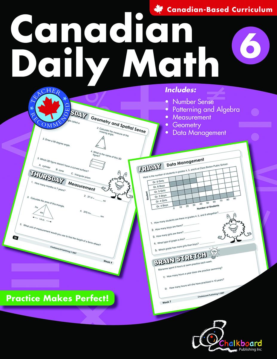 Canadian Daily Math Gr. 6