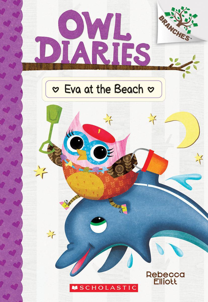 Owl Diaries #14: Eva at the Beach