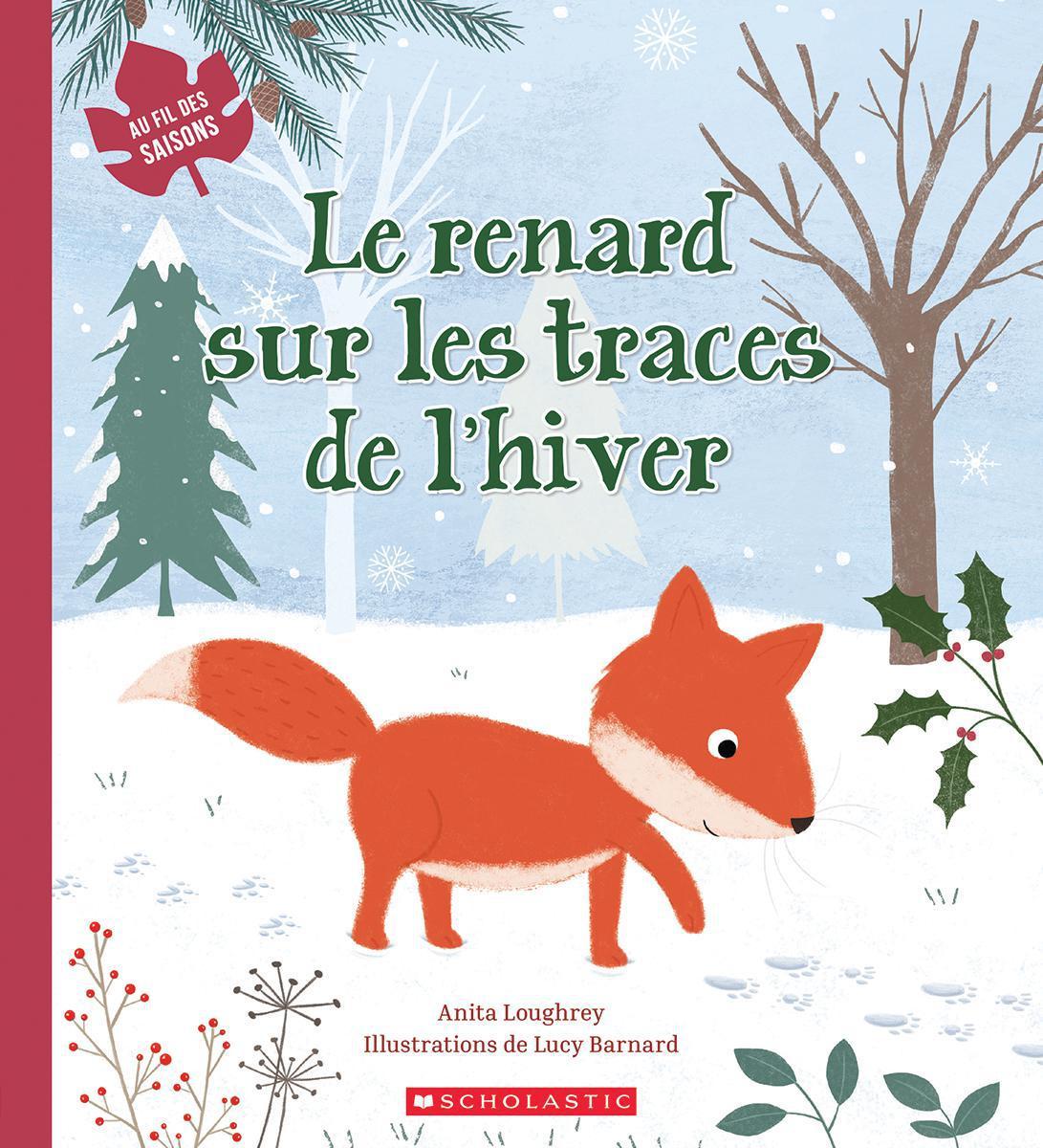Au fil des saisons : Le renard sur les traces de l'hiver