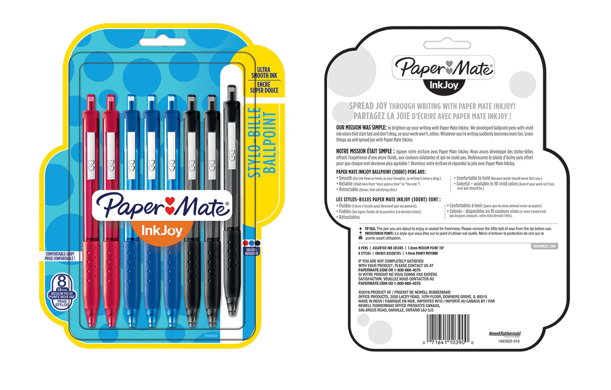 Paper Mate®: Ink Joy Pens 8-Pack