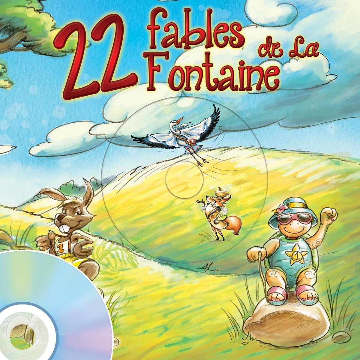 22 fables de La Fontaine