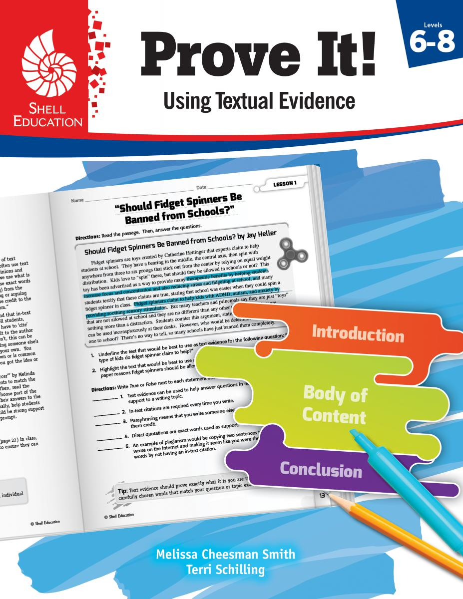Prove It! Using Textual Evidence Level 6-8