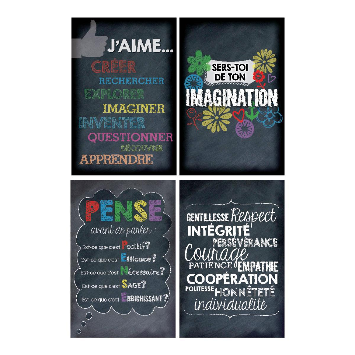 French Inspiration Posters 4-Pack