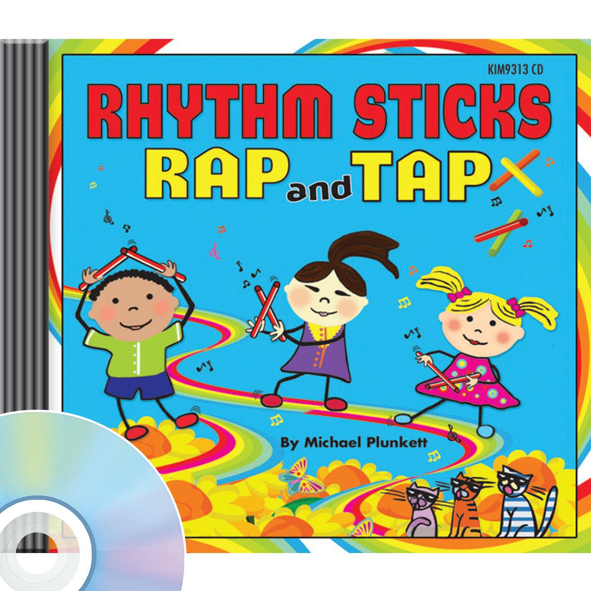 Rhthym Sticks Rap and Tap CD