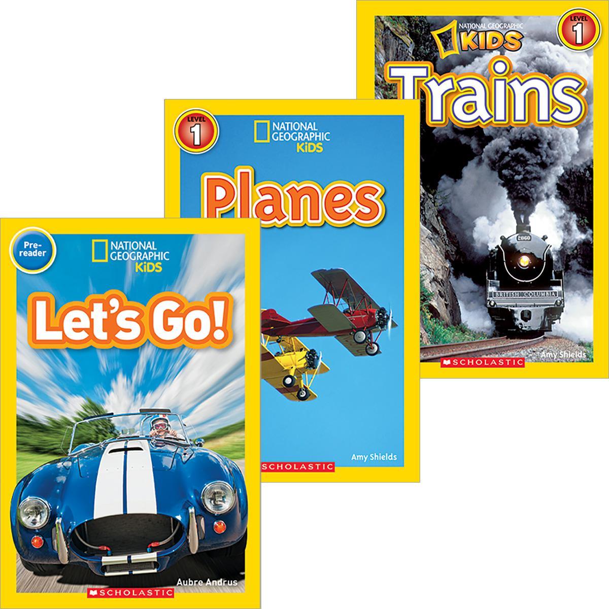 National Geographic Kids: Transportation Pack