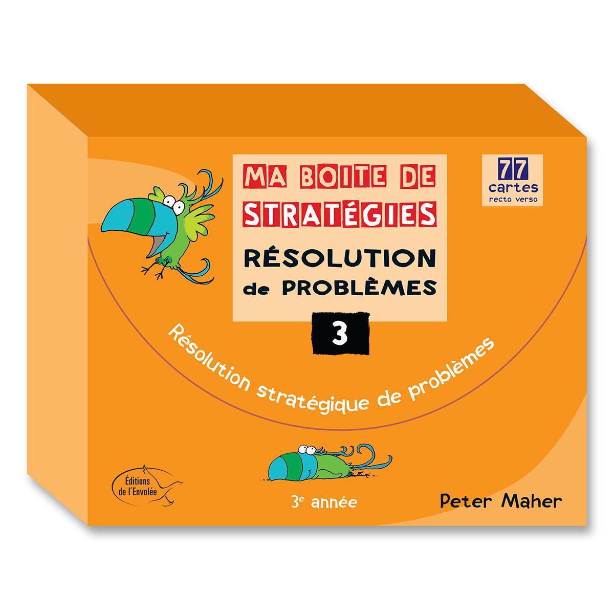 Ma boite de stratégies - Résolution de problèmes: 3e année