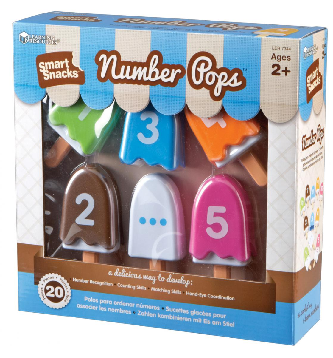 Smart Snacks® Number Pops