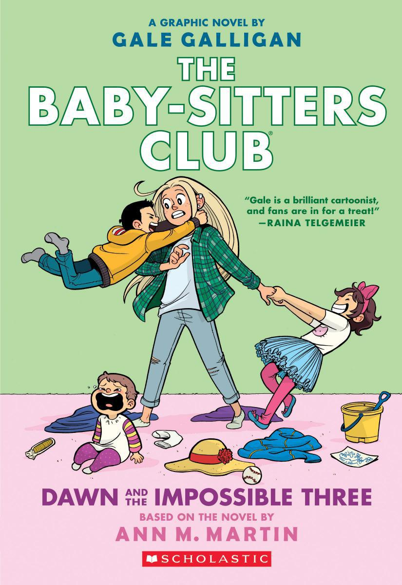The Baby-Sitters Club® #5: Dawn and the Impossible Three