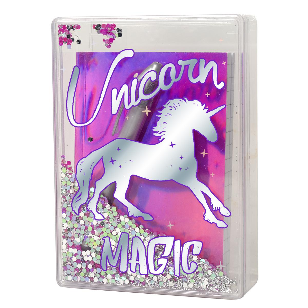 Unicorn Magic Glitter Stationery