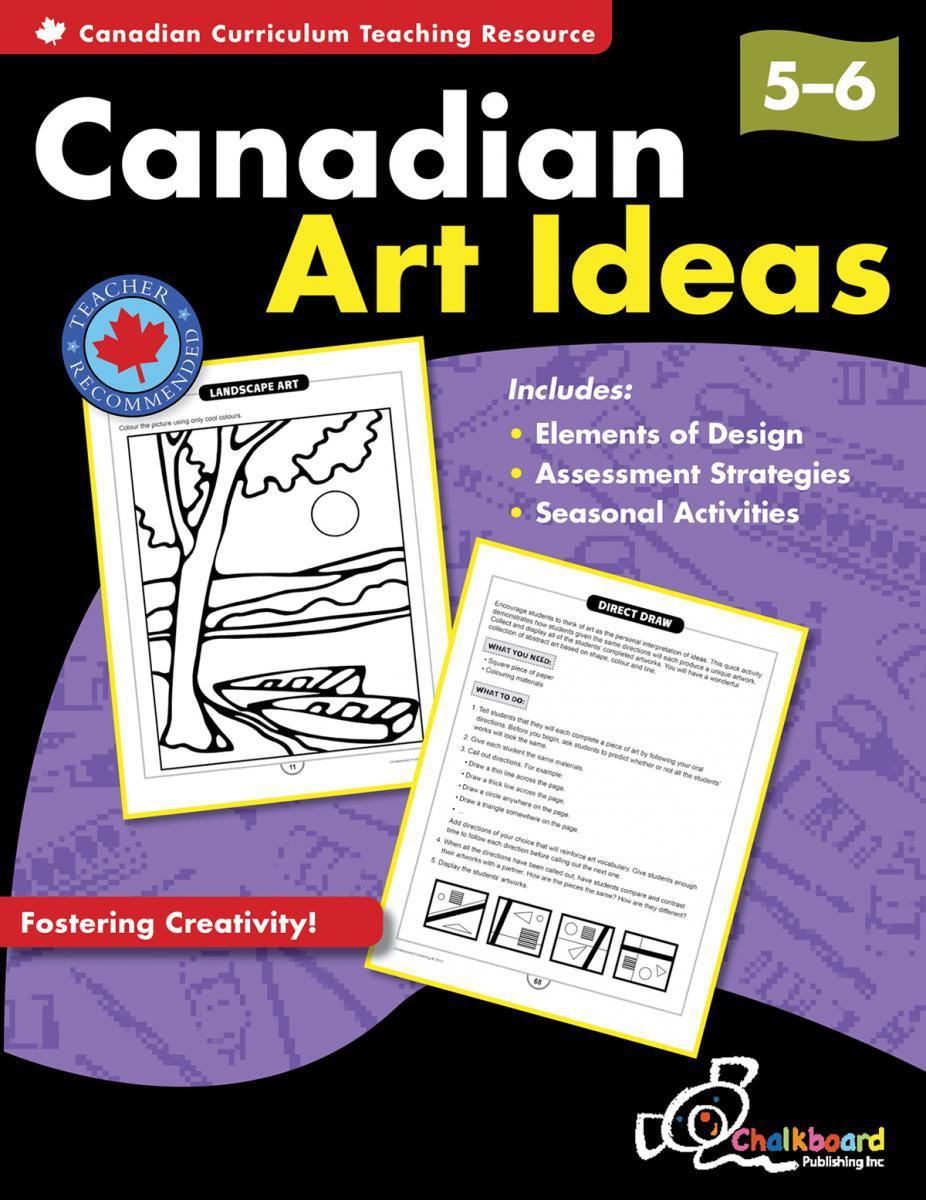 Canadian Art Ideas Gr. 5+