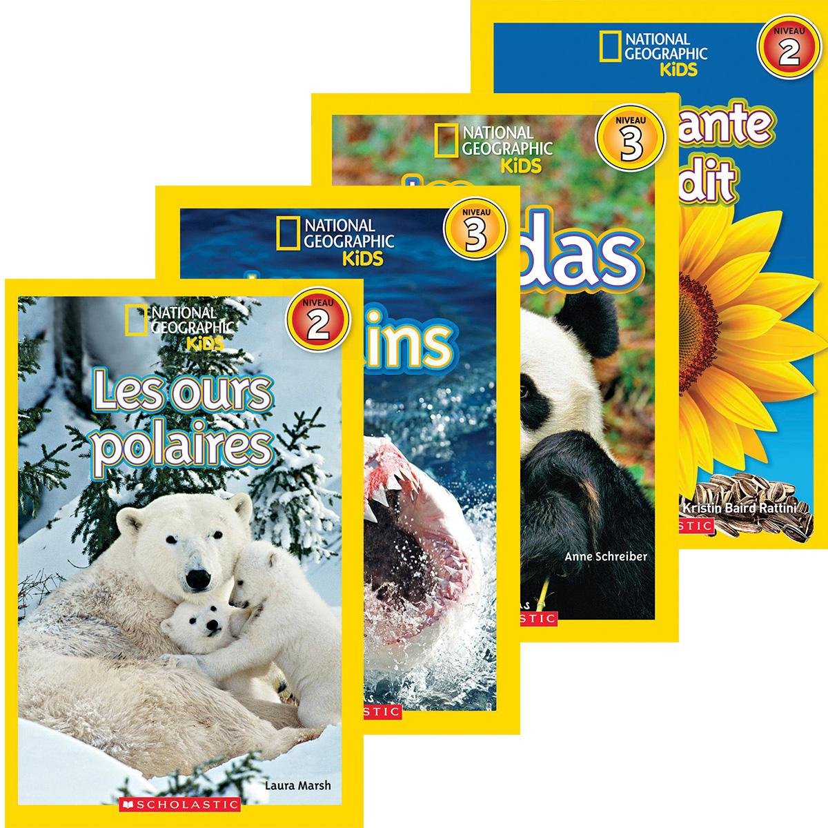 French National Geographic Kids Value Pack