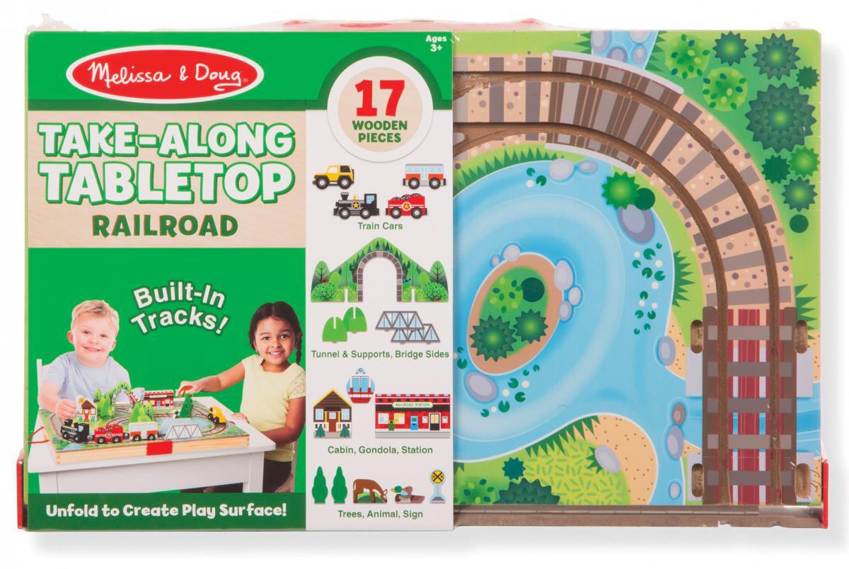 Take-Along Tabletop Railroad