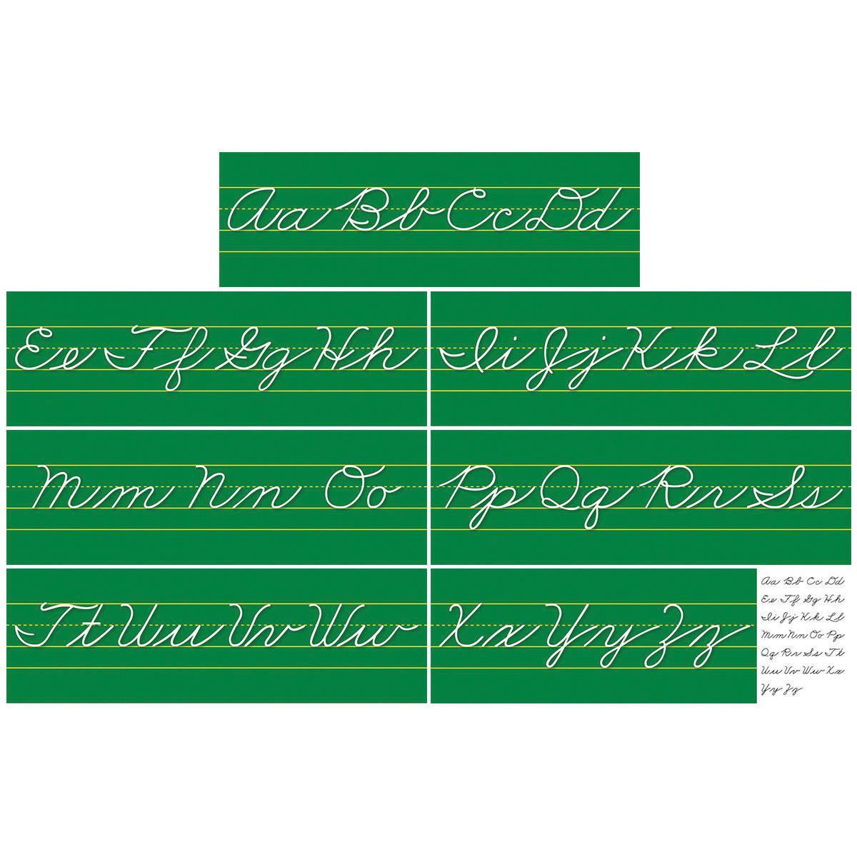 Alphabet Lines: Traditional Cursive