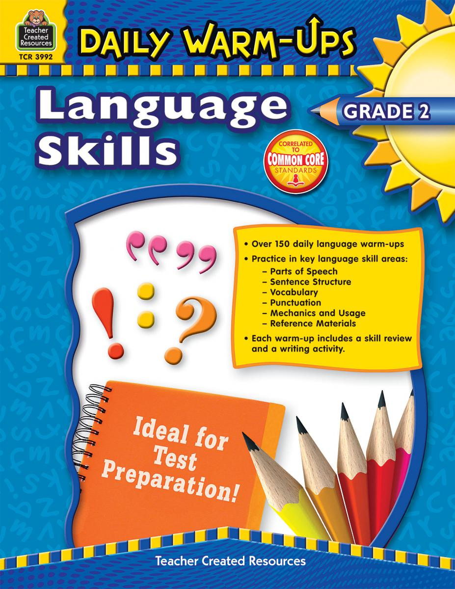 Daily Warm-Ups Language Skills Gr 2