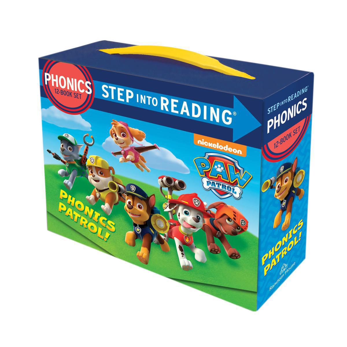 PAW Patrol: Phonics Patrol! Boxed Set