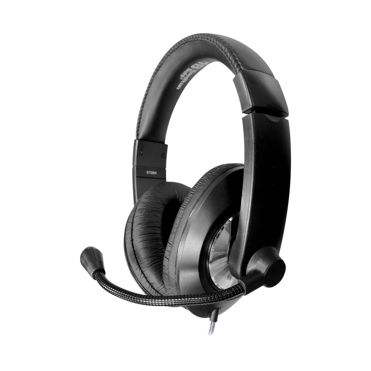 Smart-Trek Deluxe Stereo Headset with USB Plug