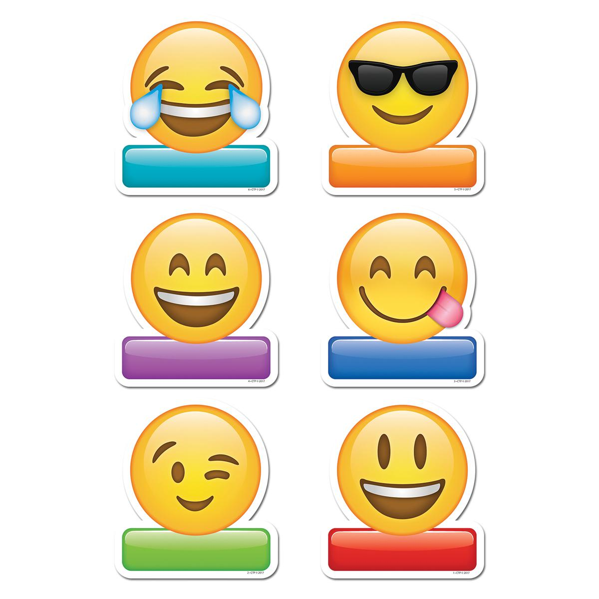 Simply Emoji Cut-Outs