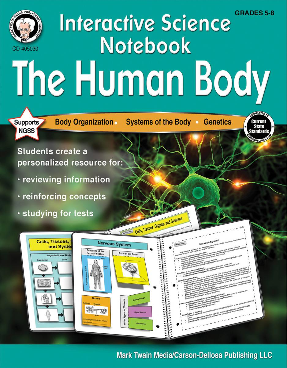 Interactive Science Notebook: The Human Body Grade 5-8