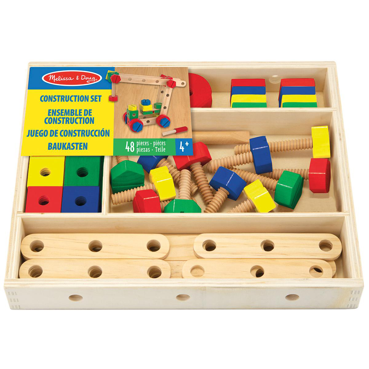 Wooden Construction Set