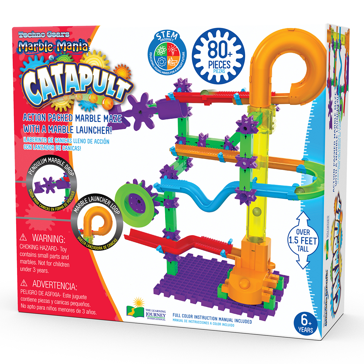 Techno Gears Marble Mania: Catapult