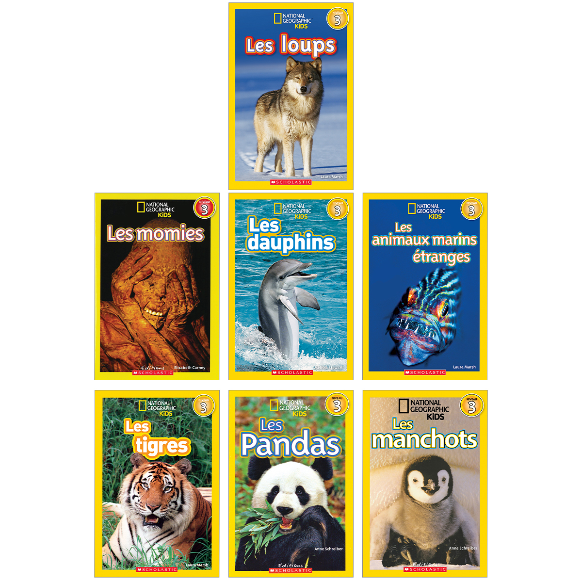 Collection National Geographic Kids Niveau 3
