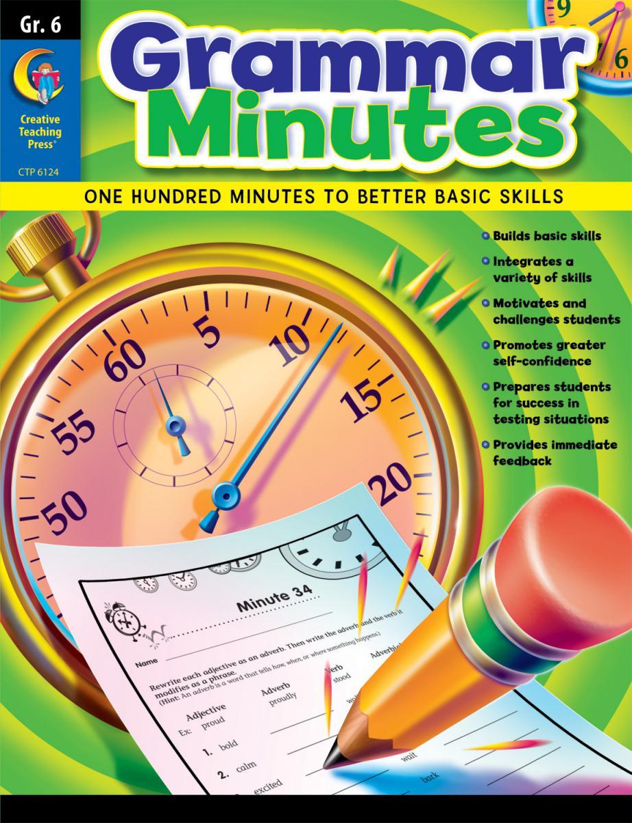 Grammar Minutes Grade 6