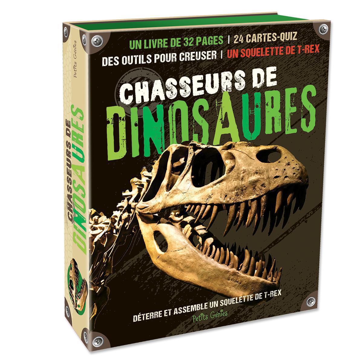 Coffret Chasseurs de dinosaures