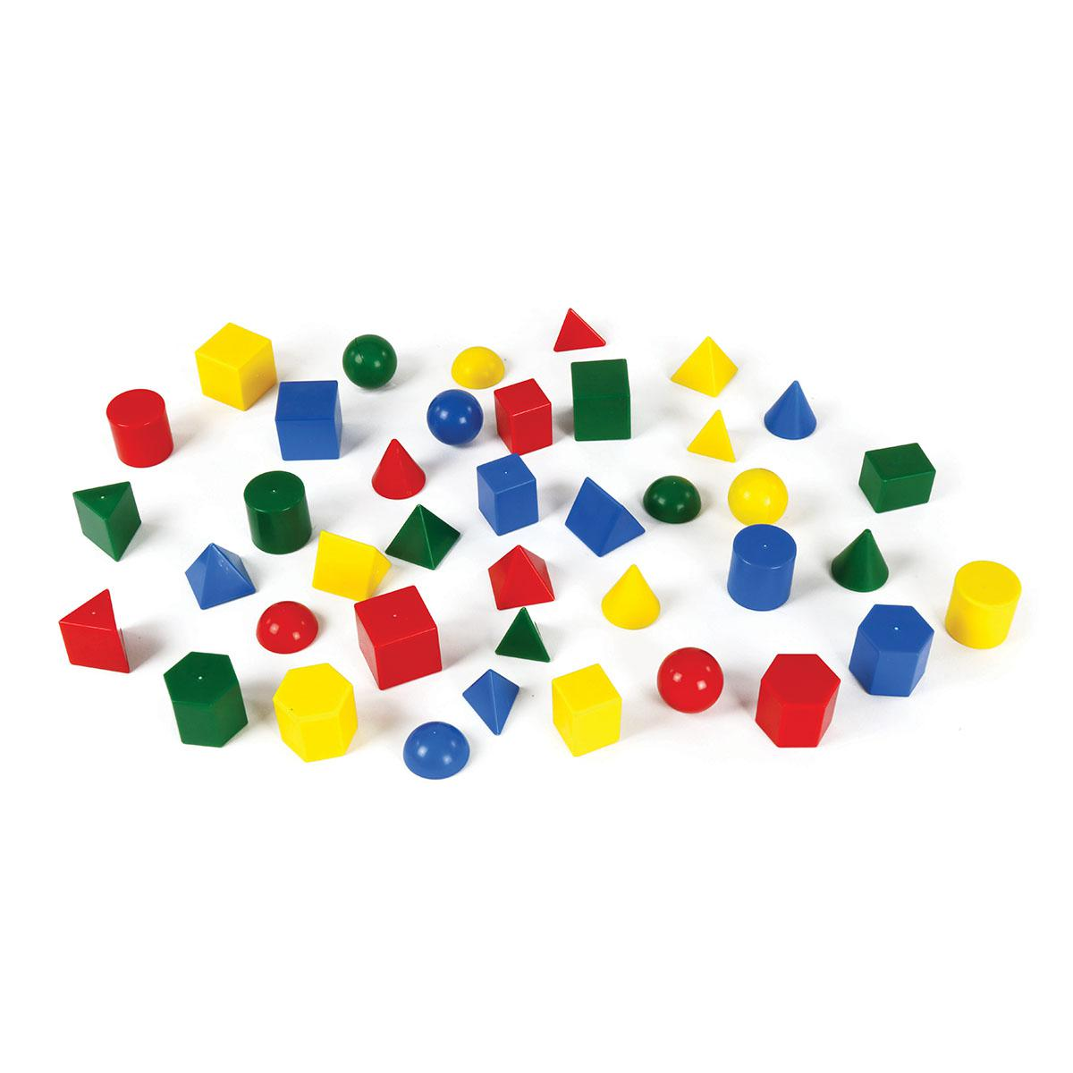 Geometric Solids 40 Pieces