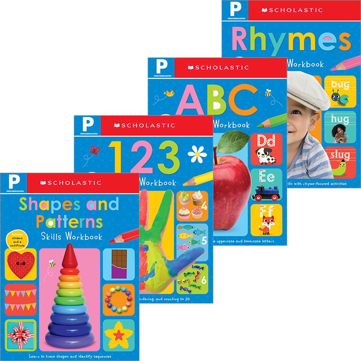 Scholastic Early Learners: Prekindergarten Workbook Pack