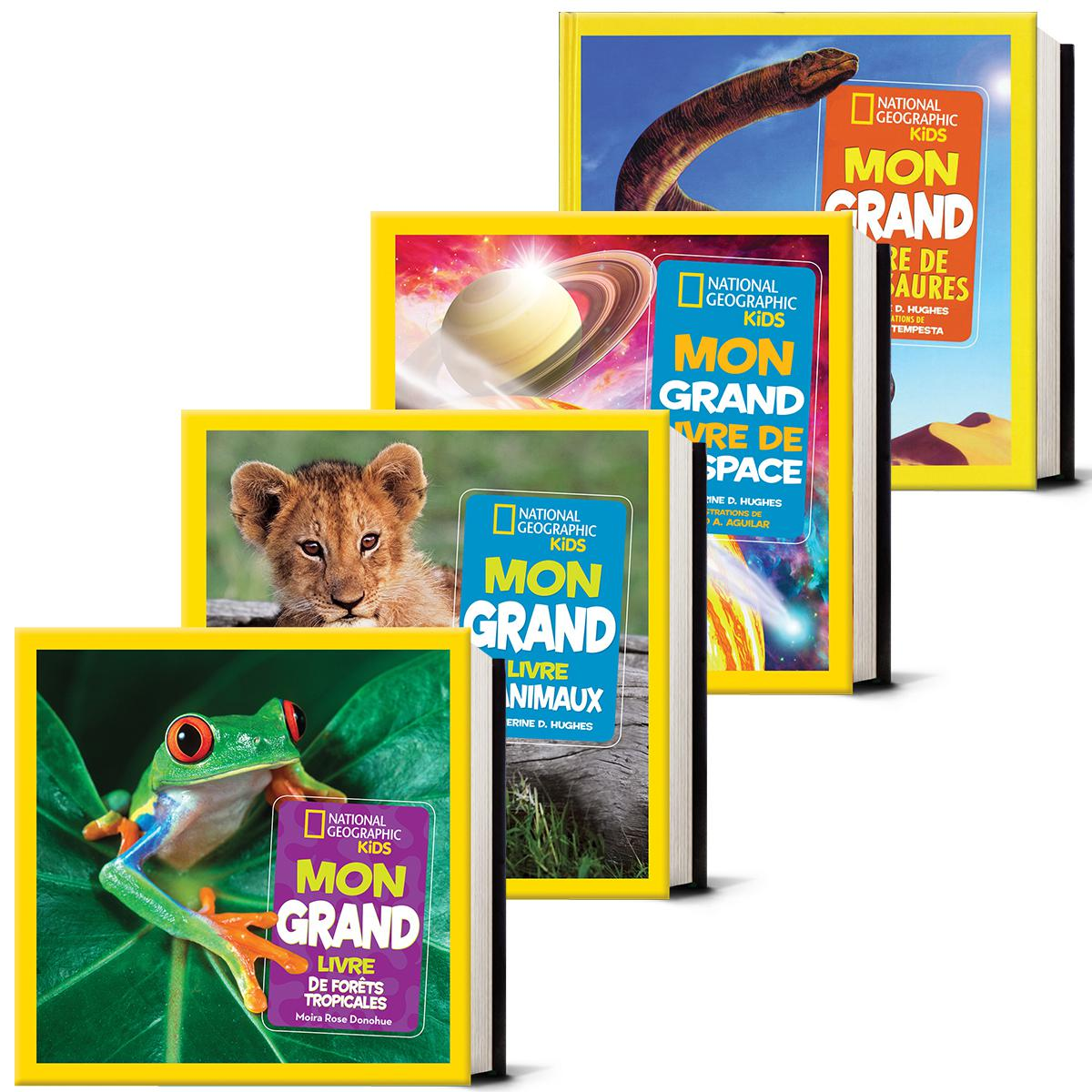 Collection National Geographic Kids Mon grand livre 1