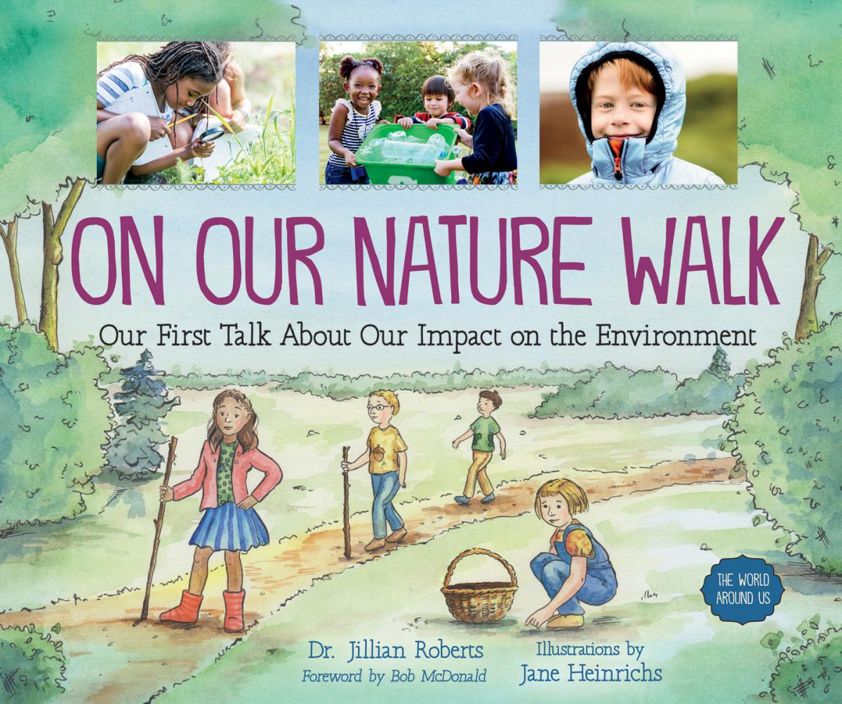 On Our Nature Walk: Our First Talk About Our Impact On The Environment