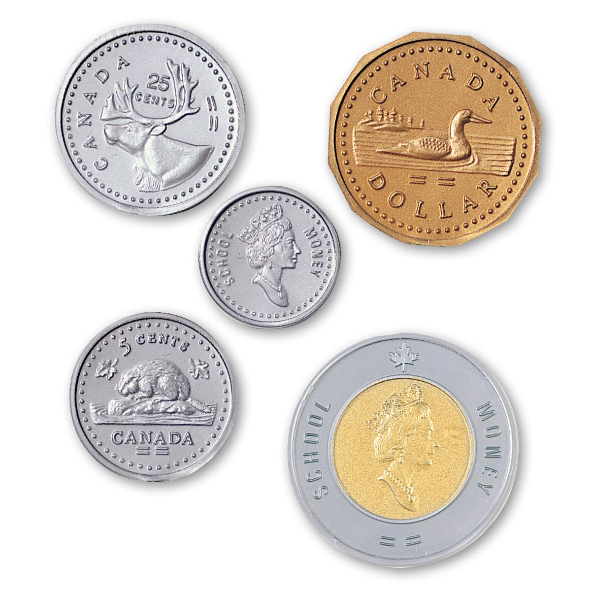 Canadian Coin Replacement Set