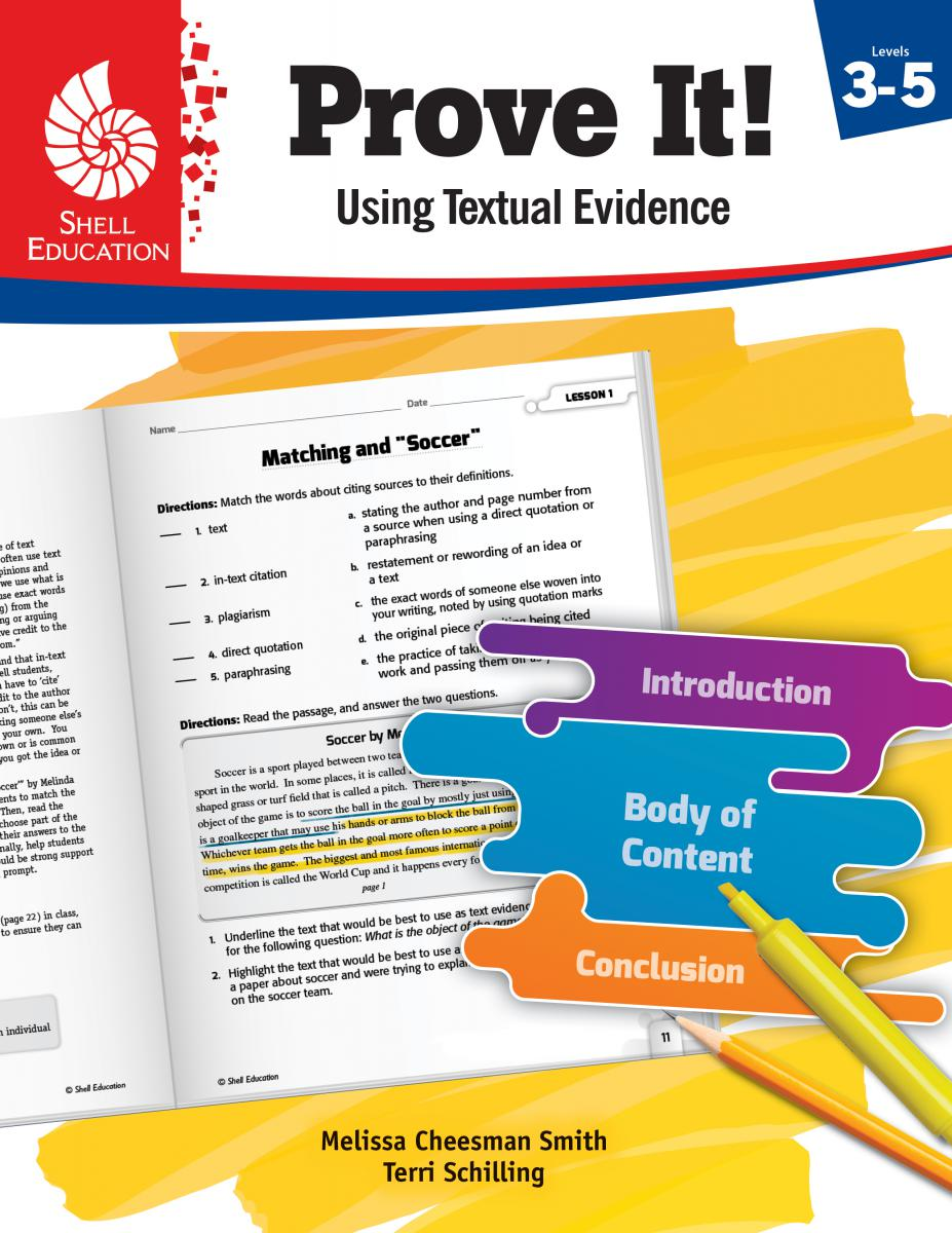 Prove It! Using Textual Evidence Level 3-5