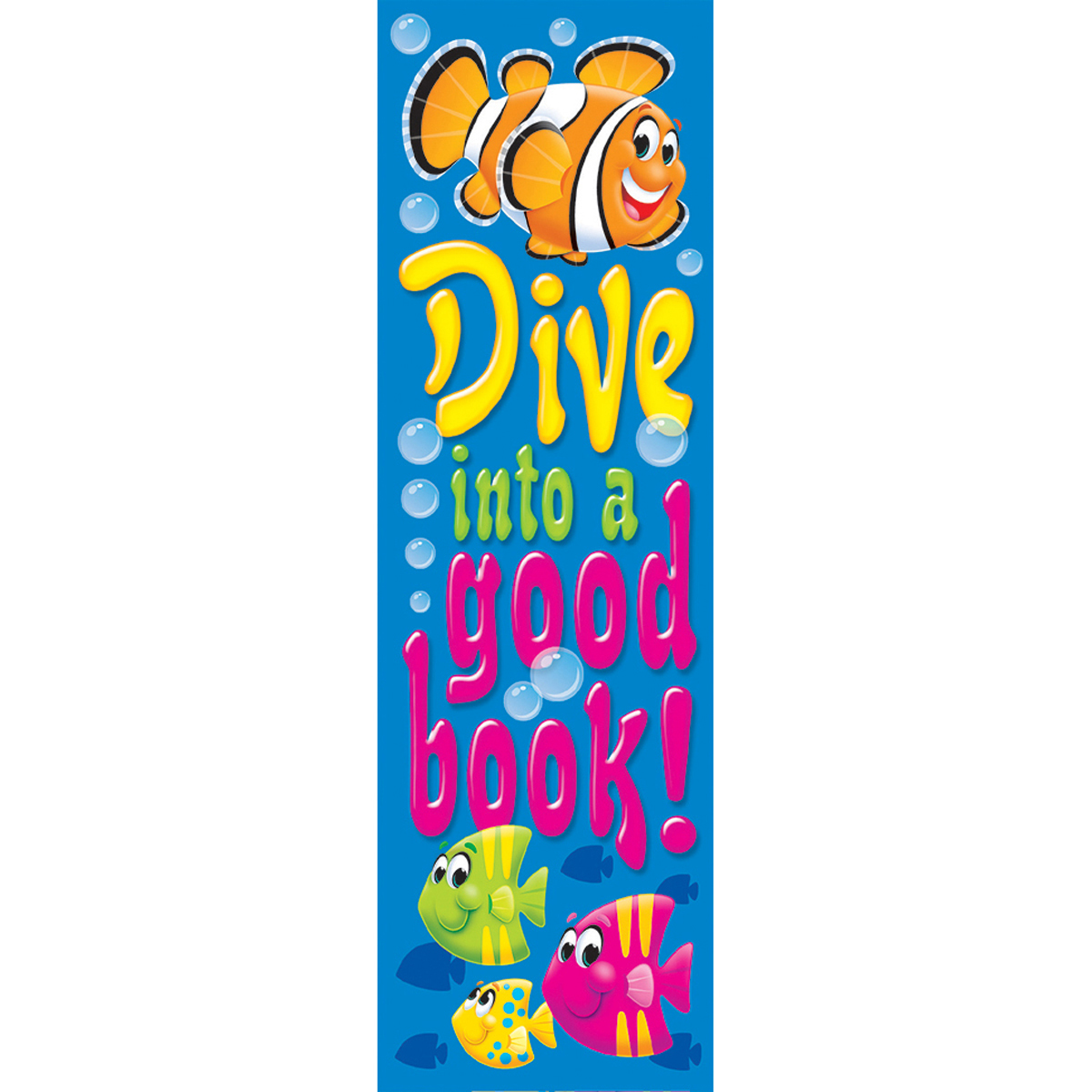 Dive into a Good Book! Bookmark