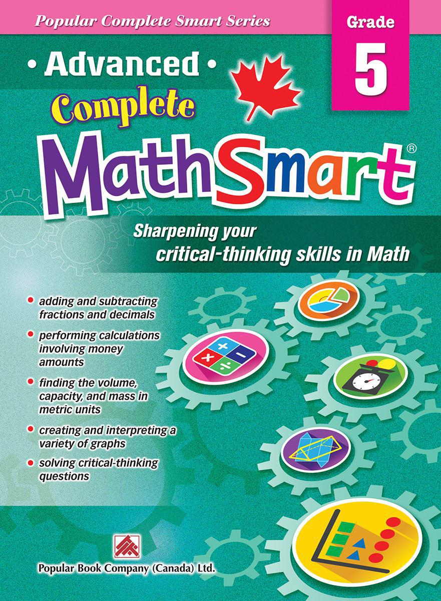 Advanced Complete MathSmart: Grade 5