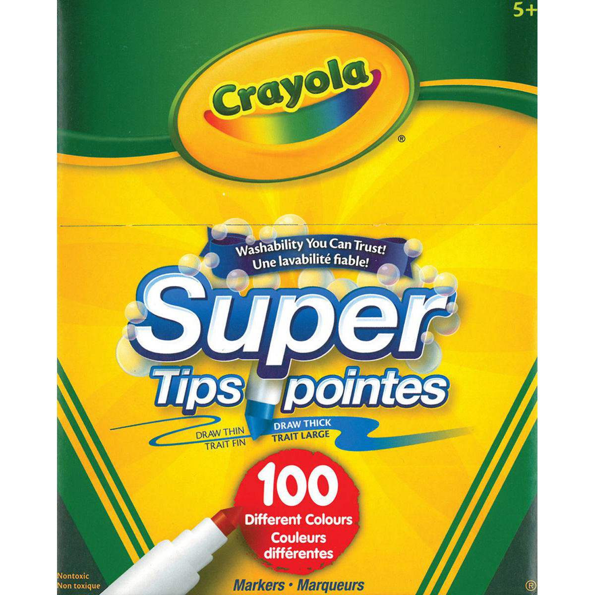 Crayola® Super Tips Washable Markers