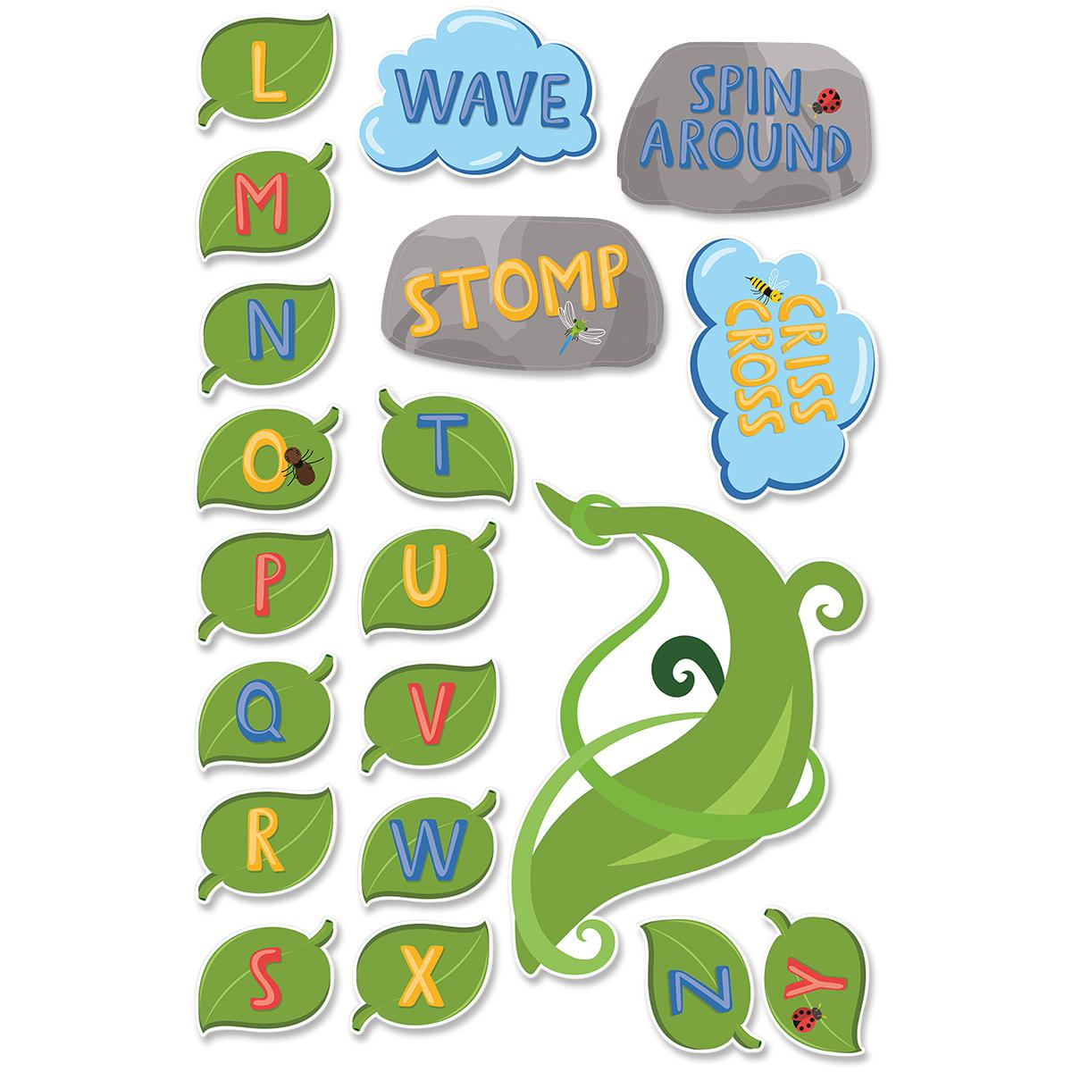 Alphabet Climb Sensory Floor Stickers