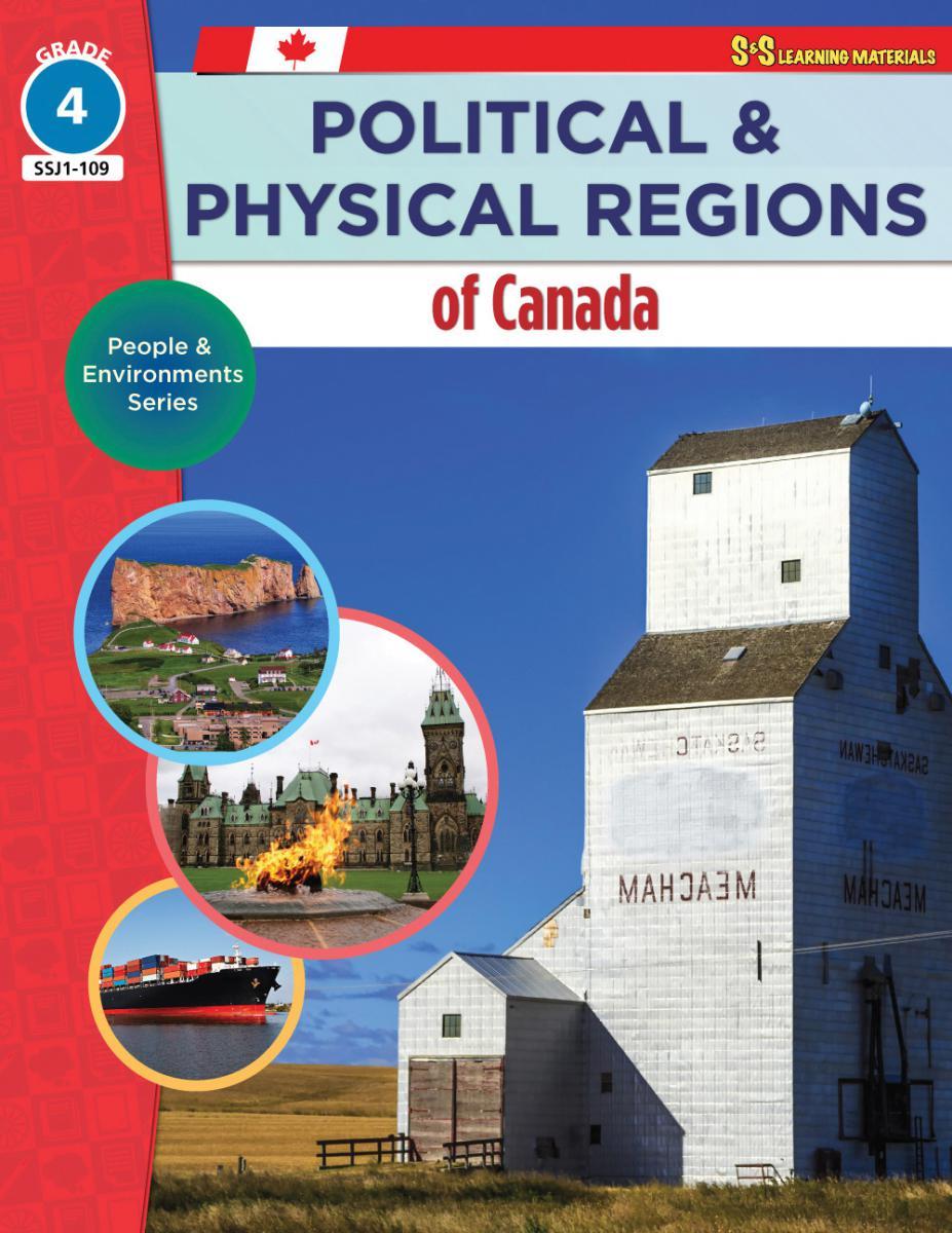 Political & Physical Regions Of Canada