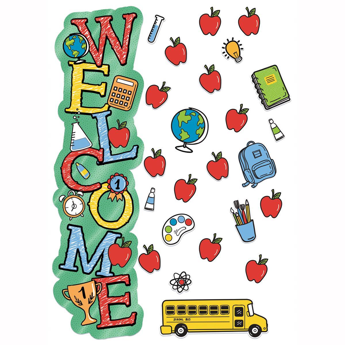 All-In-One Door Decor: Welcome Back to School
