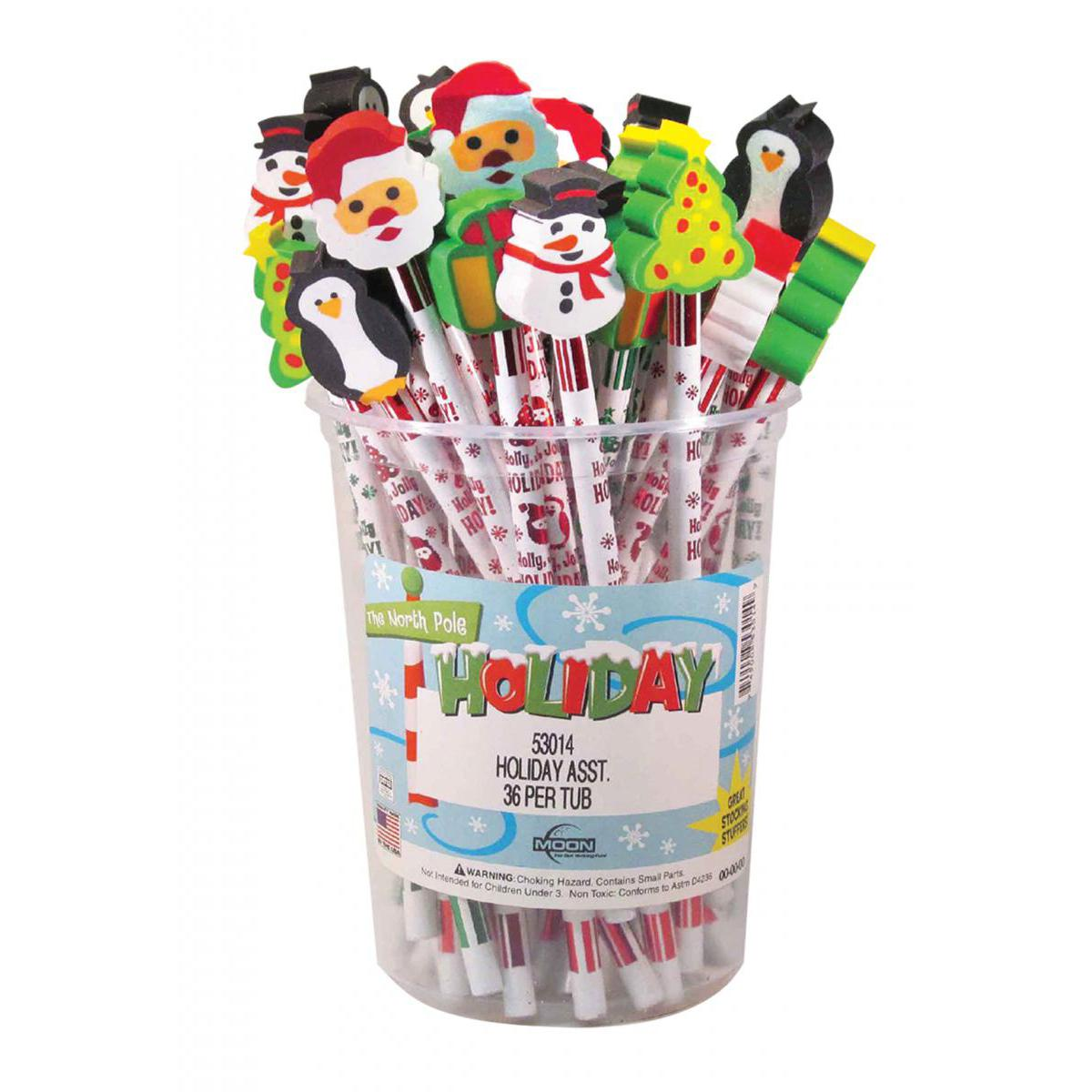 Holiday Write-Ons 36-Piece Tub
