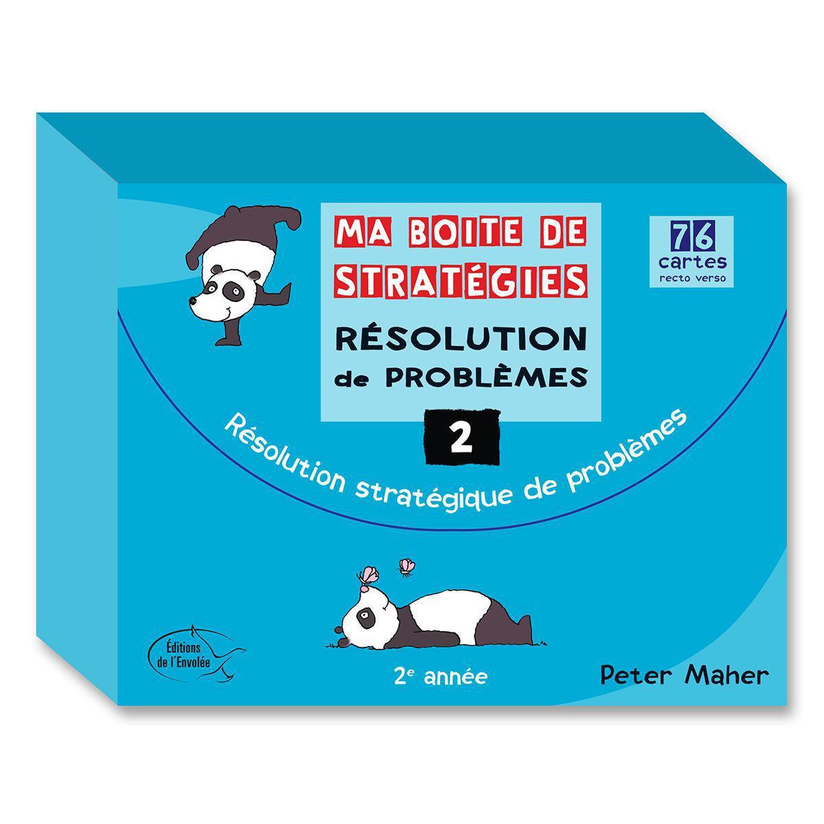 Ma boite de stratégies - Résolution de problèmes: 2e année
