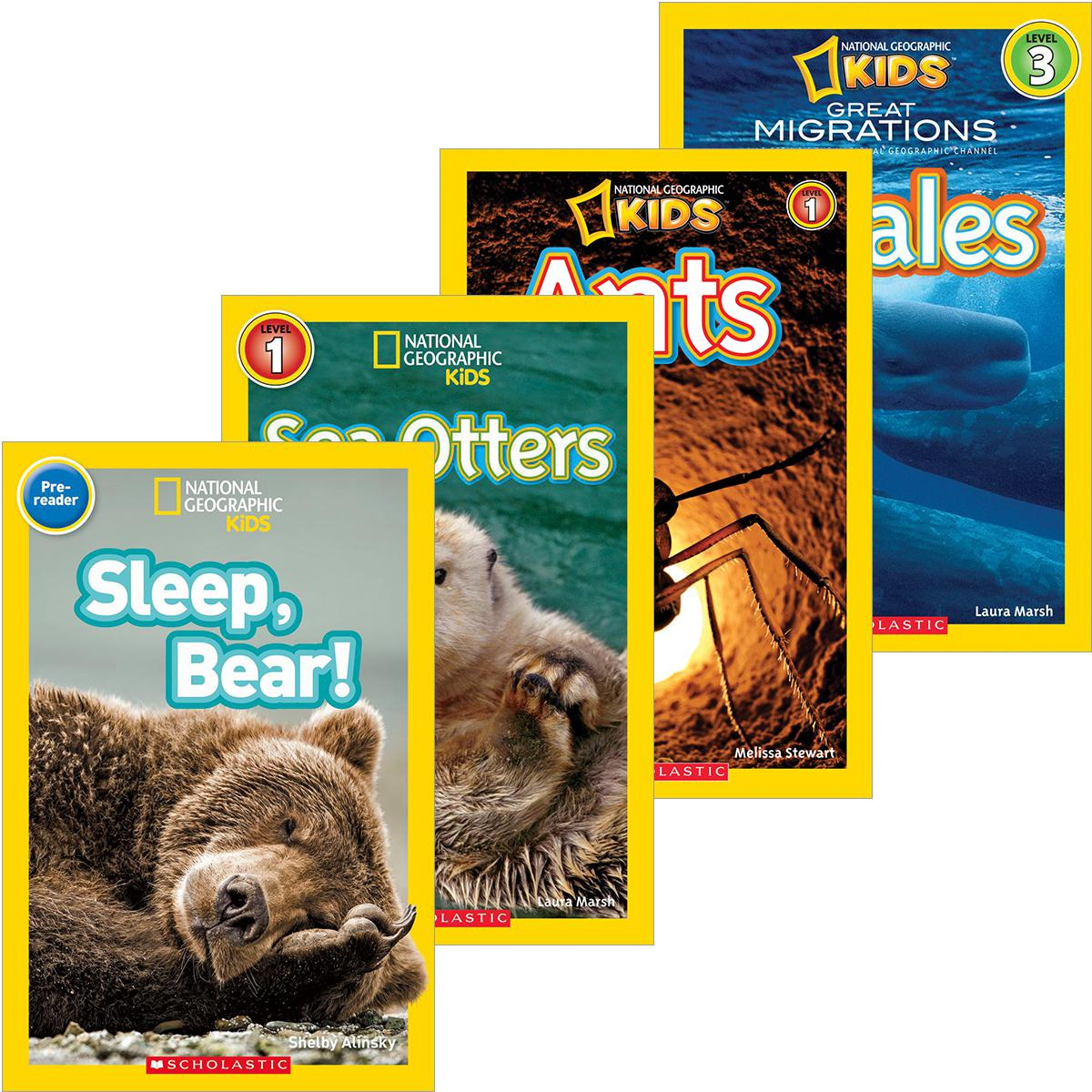 National Geographic KidsReaders Classroom Pack
