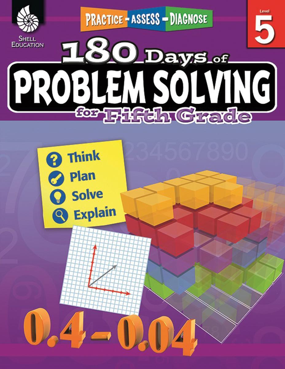 Practice, Assess, Diagnose: 180 Days of Problem Solving, Grade 5