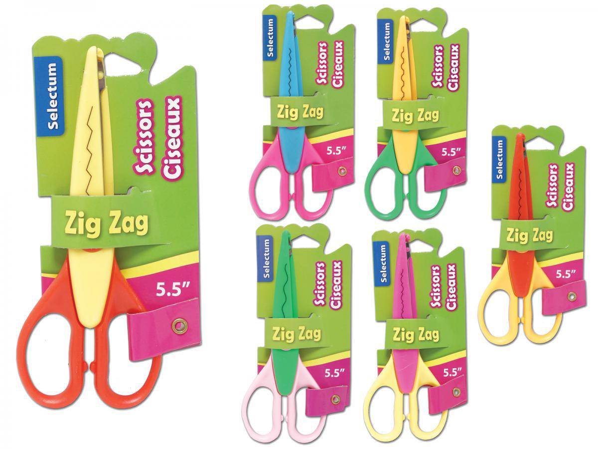 Craft Zig Zag Scissors Pack