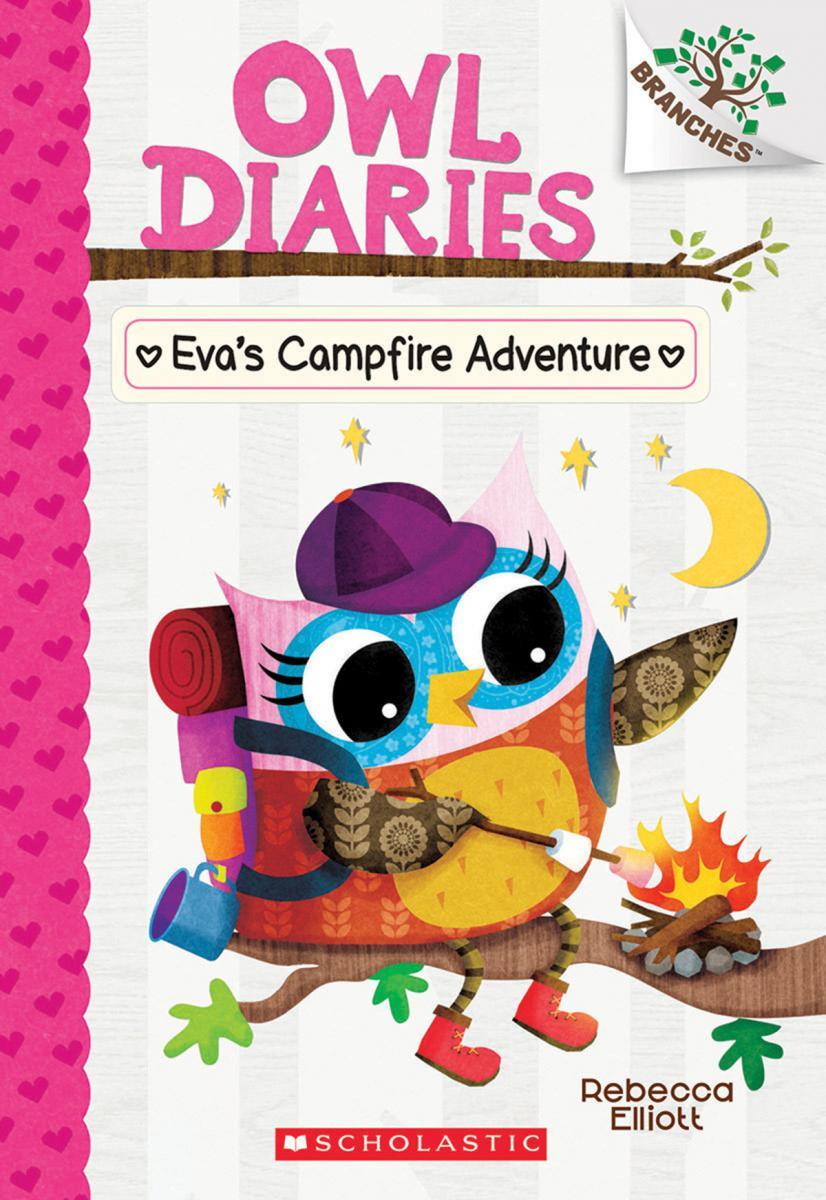 Owl Diaries #12: Eva's Campfire Adventure