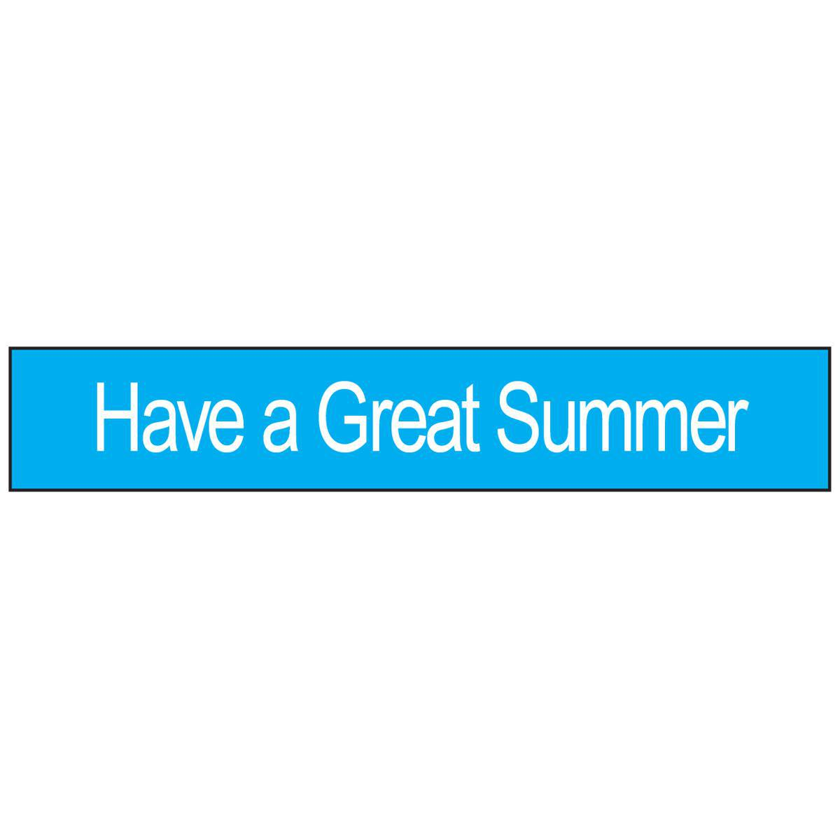Have A Great Summer Wristbands