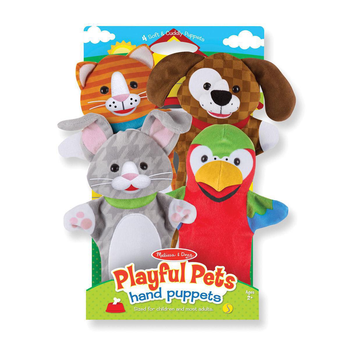 Playful Pets Hand Puppets