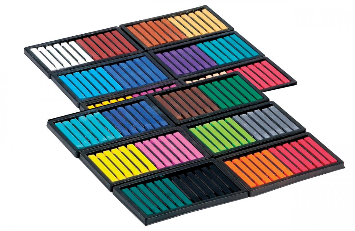 Sargent Art® Square Chalk Pastel Classpack