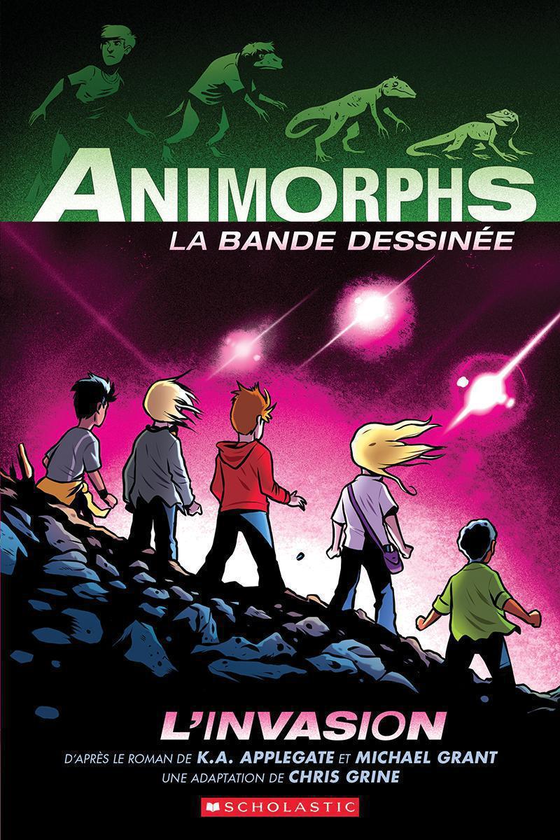 Animorphs : La bande dessinée : L'invasion - Tome 1