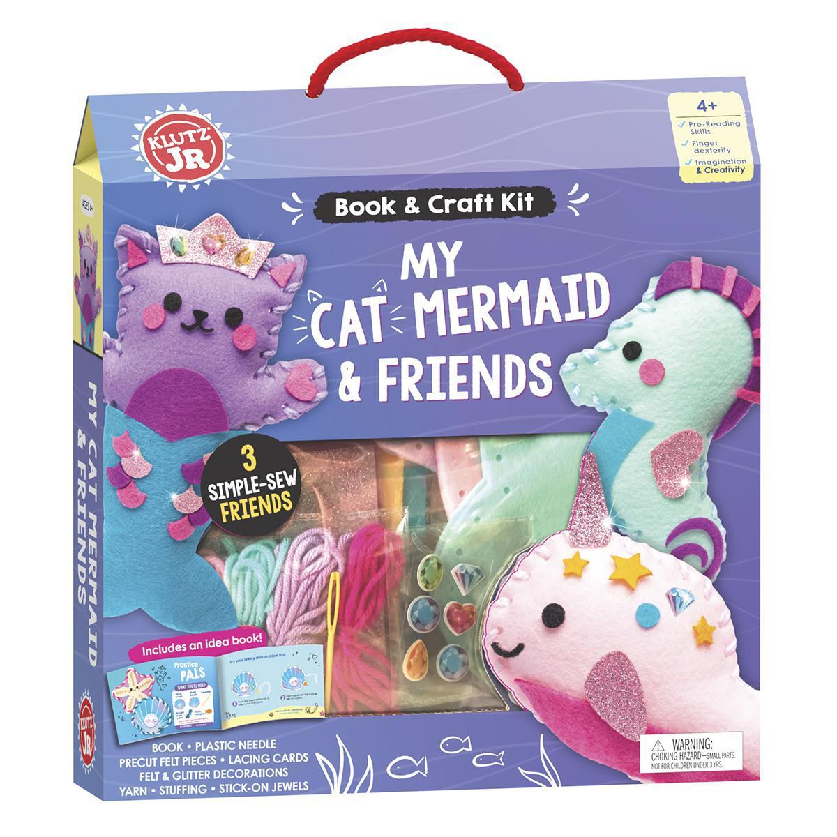Klutz® Jr. My Cat Mermaid & Friends